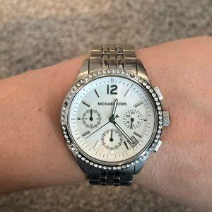 SALE! Michael Kors silver watch
